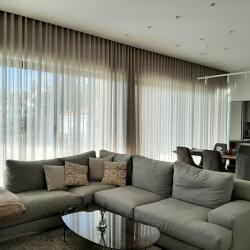 Contemporary Wave Making Curtains